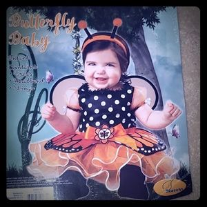 Other - 6-12 Baby Butterfly Costume